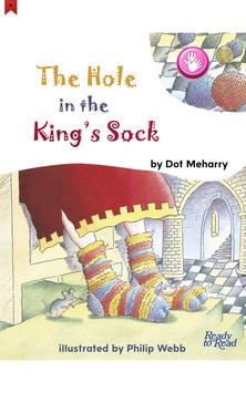 The Hole in the King's Sock - Ready to Read poster