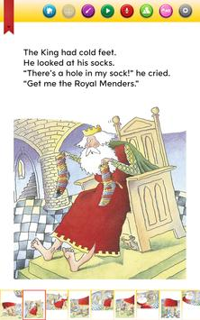 The Hole in the King's Sock - Ready to Read screenshot 1