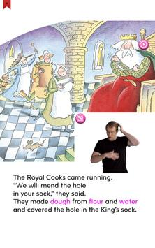 The Hole in the King's Sock - Ready to Read screenshot 4