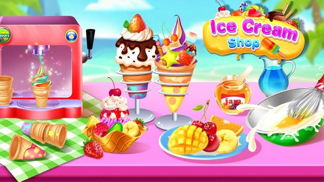 🍦🍦Ice Cream Master 2 - Frozen Food Shop screenshot 1