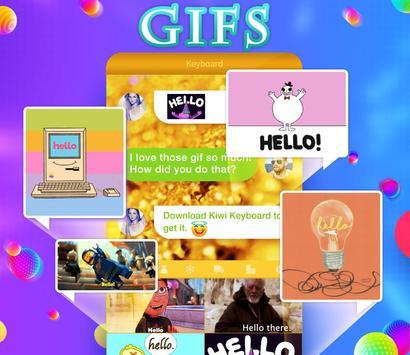 Kiwi Keyboard–Emoji, Original Stickers, and GIFs screenshot 3