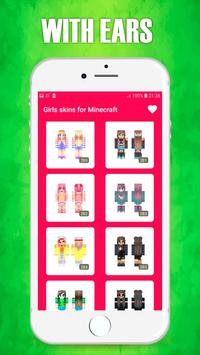 Girls Skins for Minecraft screenshot 3