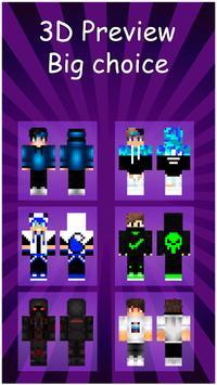 Boys Skins For Minecraft screenshot 3