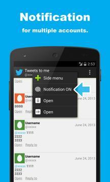 SocialLine for Twitter Screenshot 1