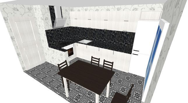 Моя Кухня: 3D Планировщик постер