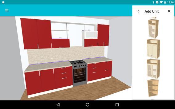 Moja kuchnia: planista 3D screenshot 2