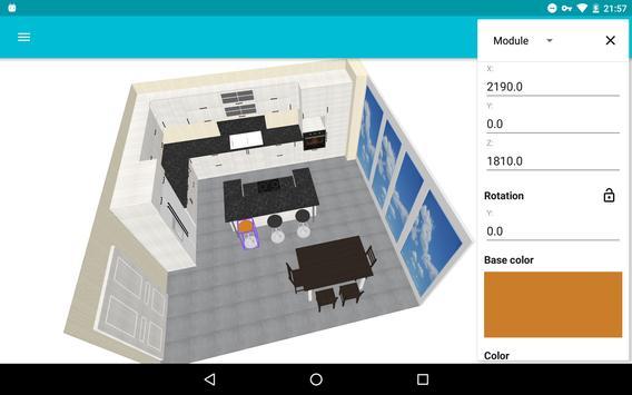 Moja kuchnia: planista 3D screenshot 8