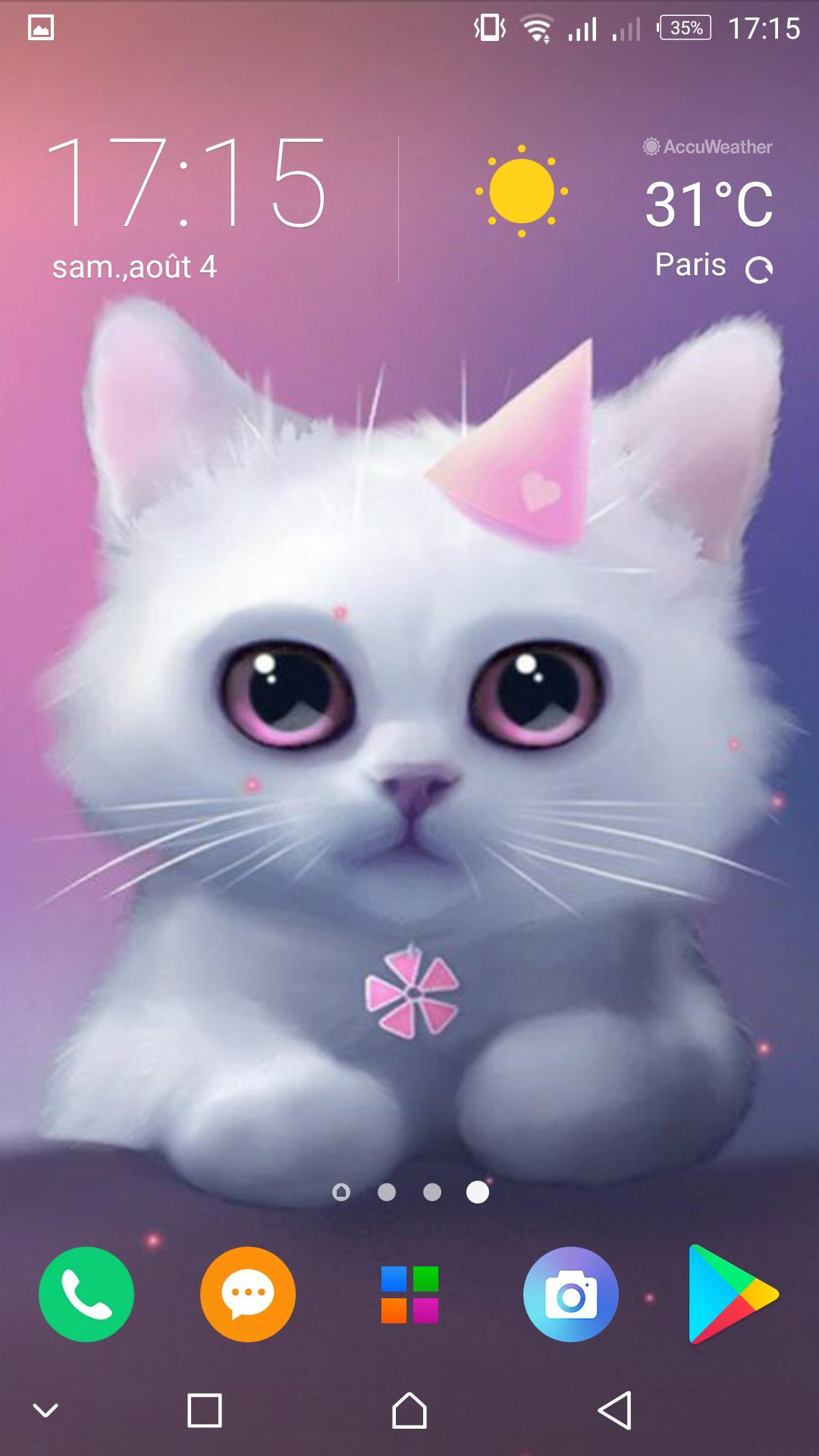 Kawaii Cats Wallpapers Cute Backgrounds For Android Apk