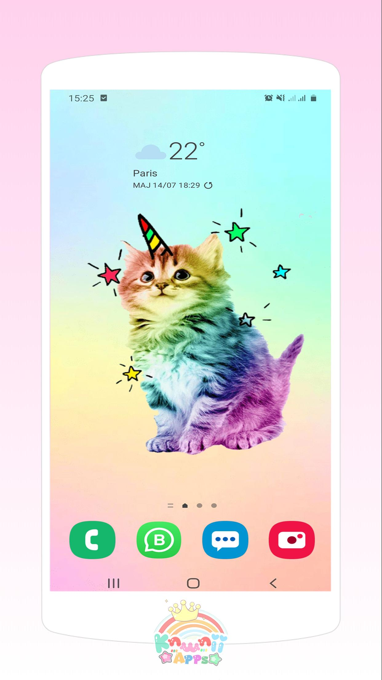 Kawaii Cats Wallpapers Cute Backgrounds For Android Apk Download
