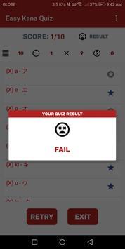 Easy Kana Quiz screenshot 6