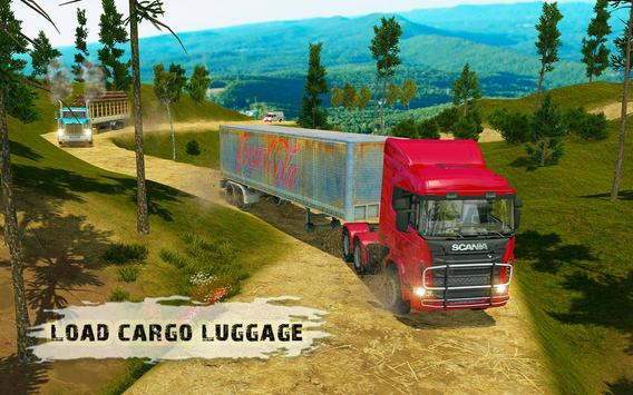 Heavy Cargo Truck Simulator:Hill Climb 2020 screenshot 10