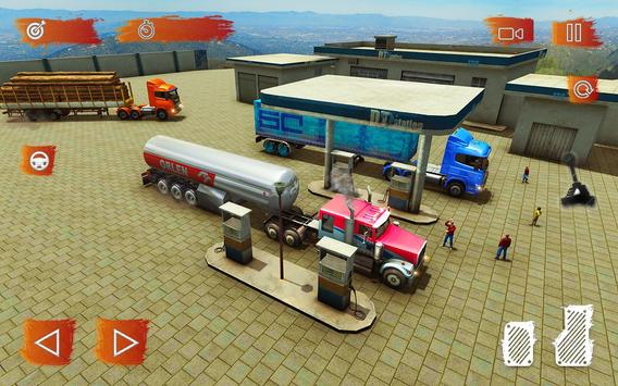 Heavy Cargo Truck Simulator:Hill Climb 2020 screenshot 12