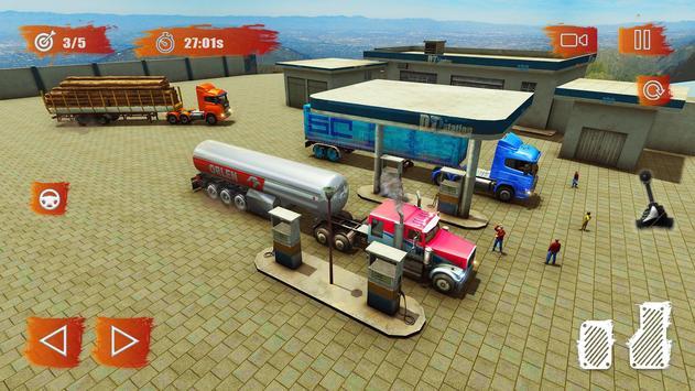Heavy Cargo Truck Simulator:Hill Climb 2020 screenshot 7