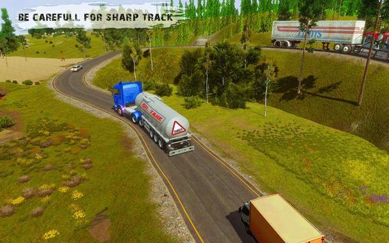 Heavy Cargo Truck Simulator:Hill Climb 2020 screenshot 4