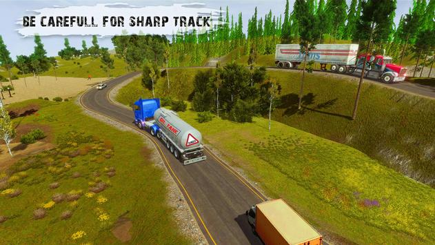 Heavy Cargo Truck Simulator:Hill Climb 2020 screenshot 9