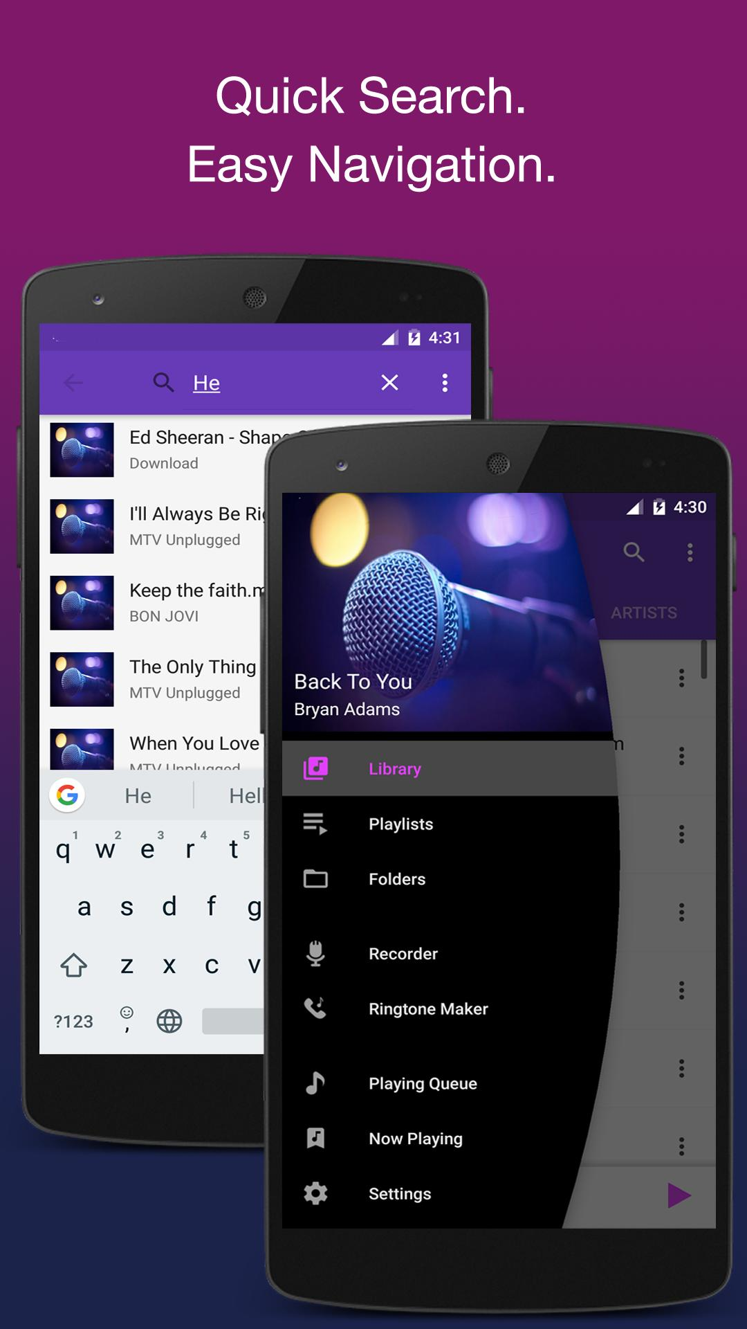Breathe : Music Player Pro 2019 for Android - APK Download