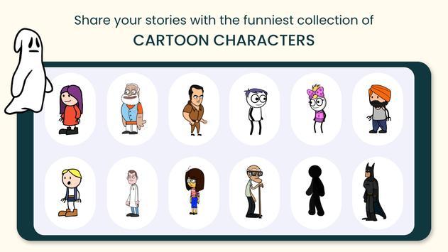 TweenCraft  -  cartoon video maker,  animation app screenshot 2
