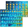 Blue Diamond KK Emoji Keyboard