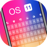 Color Rainbow Emoji Keyboard Wallpaper