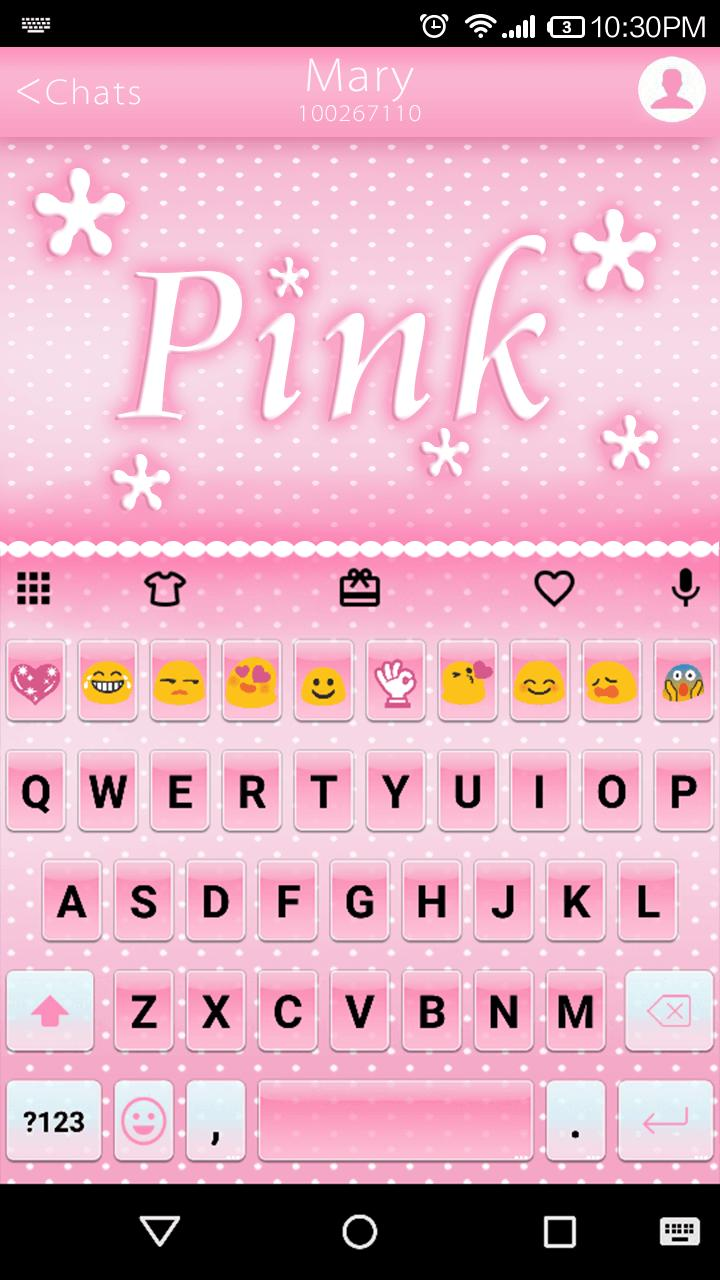 Pink Emoji Keyboard -Emoticons for Android - APK Download