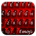 Valentine Red 2 Emoji Keyboard