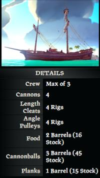 Sea Of Thieves Ship Guide скриншот 1