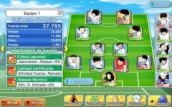 Captain Tsubasa: Dream Team captura de pantalla 10