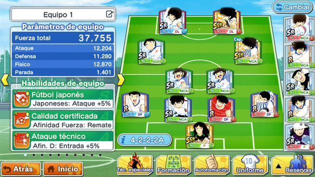 Captain Tsubasa: Dream Team captura de pantalla 4