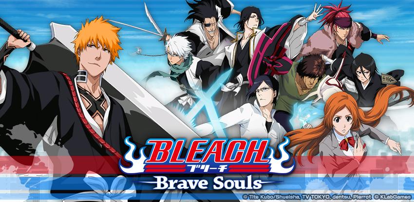Bleach: Brave Souls Popular Jump TV Anime Game APK