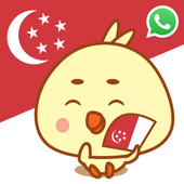 Singlish Stickers icon
