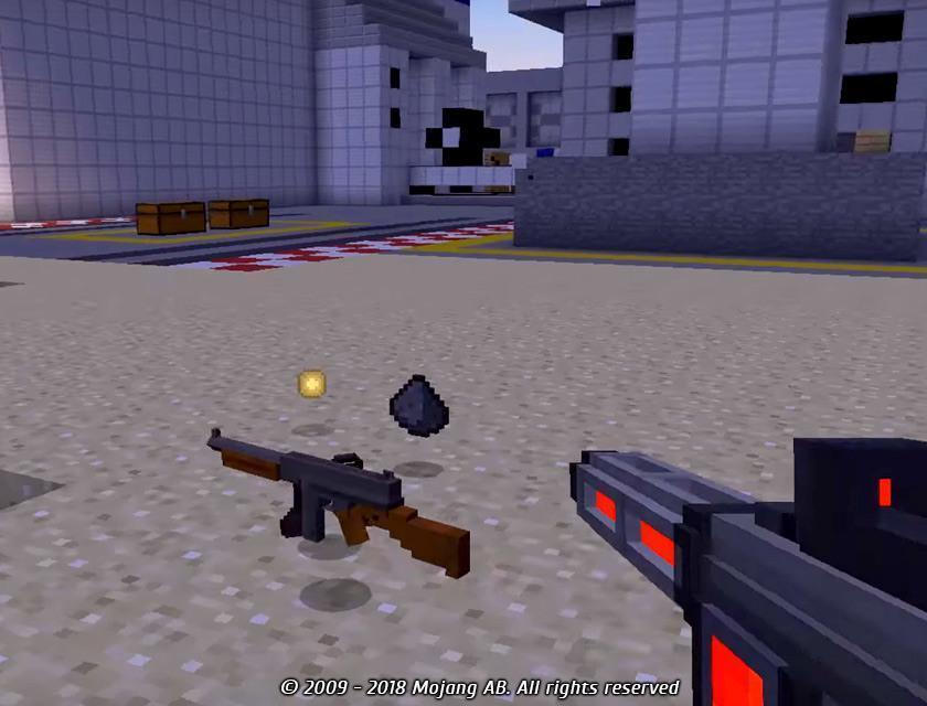 мод на оружие для майнкрафт 1.10.2 как у эмиральда #4