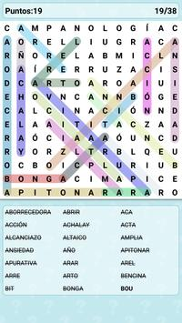 Word Search Games in Spanish screenshot 12