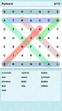 Word Search Games in Spanish screenshot 9