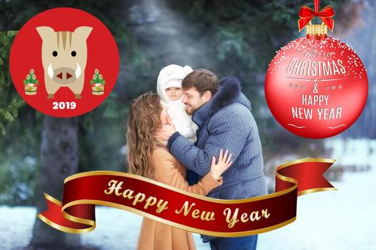 Christmas and Happy New Year 2019 stickers screenshot 5