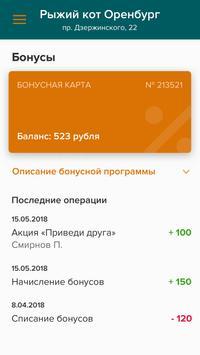 Рыжий кот Оренбург screenshot 2