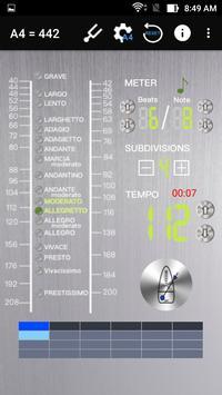 Shamisen SanShin Tuner  & Metronome screenshot 7