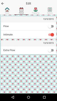 Period and Ovulation Tracker screenshot 2