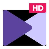 مُشغل km player لتنسيق وترميز الفيديو عالي الجودة أيقونة