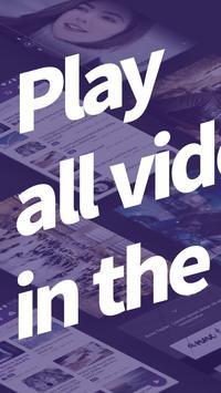 مُشغل km player لتنسيق وترميز الفيديو عالي الجودة الملصق