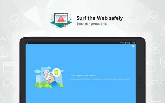 Kaspersky Mobile Antivirus: AppLock & Web Security screenshot 8