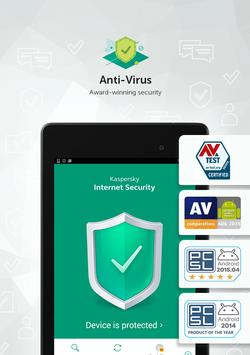 Kaspersky Mobile Antivirus: AppLock & Web Security 截圖 12