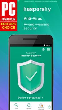 Kaspersky Mobile Antivirus: AppLock & Web Security 截圖 1