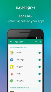 Kaspersky Mobile Antivirus: AppLock & Web Security 截圖 2