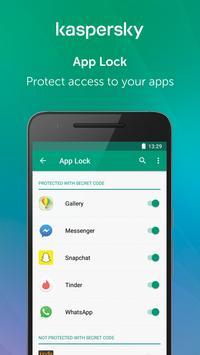 Kaspersky Mobile Antivirus: AppLock & Web Security 截圖 2
