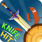 Knife Throwing Hit icon