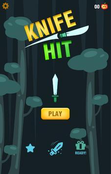 Knife Throwing Hit poster