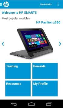 HP SMARTS スクリーンショット 1