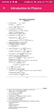 HC Verma Physics Solution Volume 1 & 2 screenshot 3