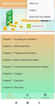 Math Solutions Class - 6 screenshot 2
