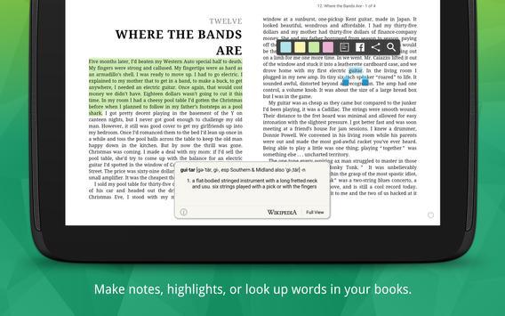 Kobo Books capture d'écran 7